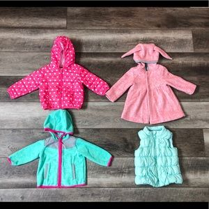 Baby Girl Fall/Winter Clothing Lot 12-18 M 31 Item